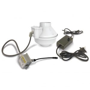 pt2 low voltage radon fan system